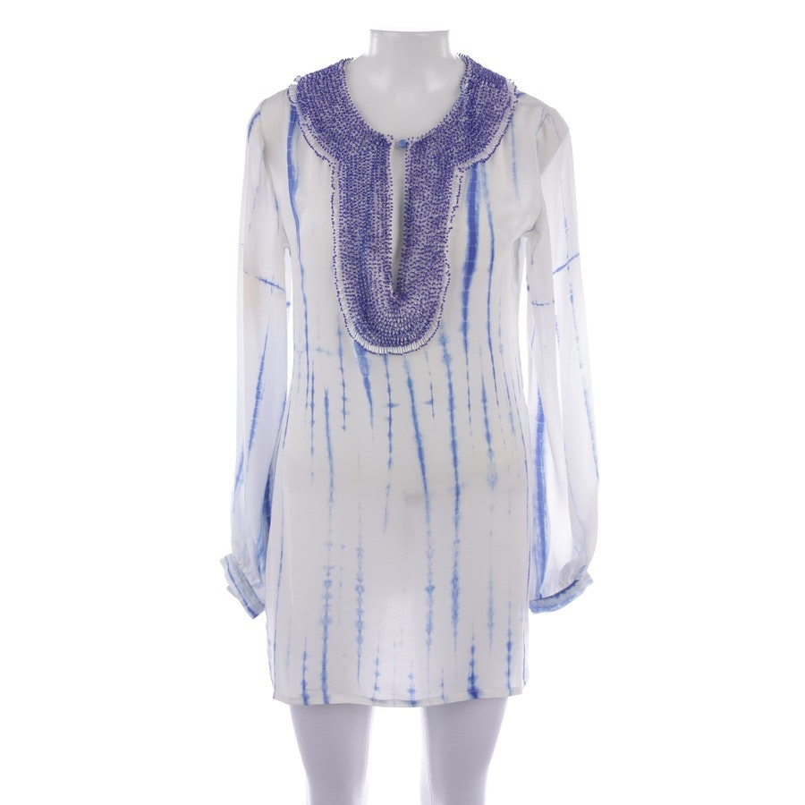 blouses & tunics from Sly 010 in white and blue size 36 FR 38