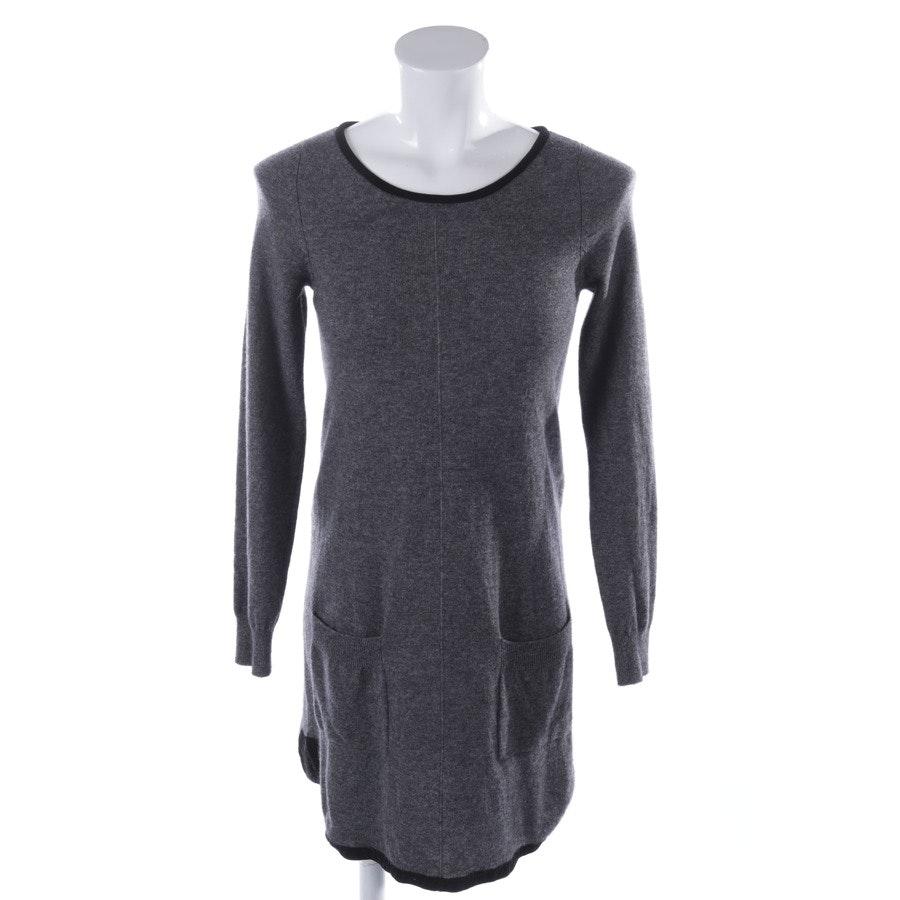 Kleid von Repeat in Grau und Schwarz Gr. 36
