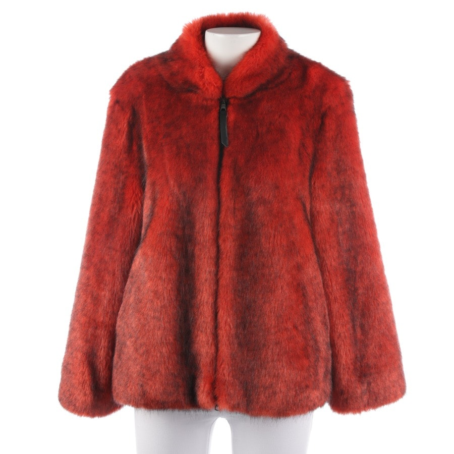 winter coat from Marc Cain Sports in red and black size 36 N2