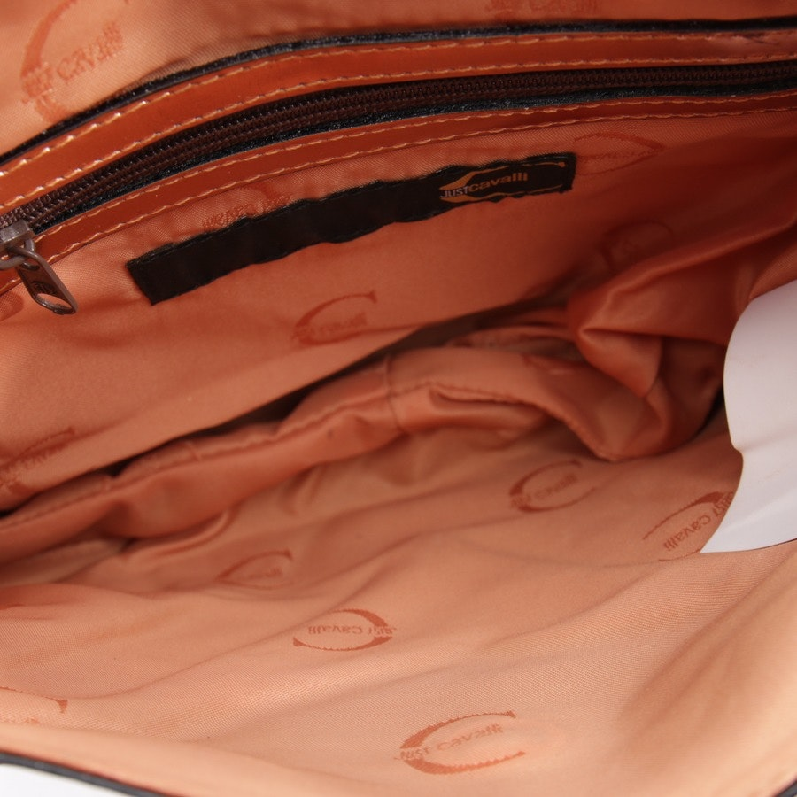 evening bags from Just Cavalli in copper and black