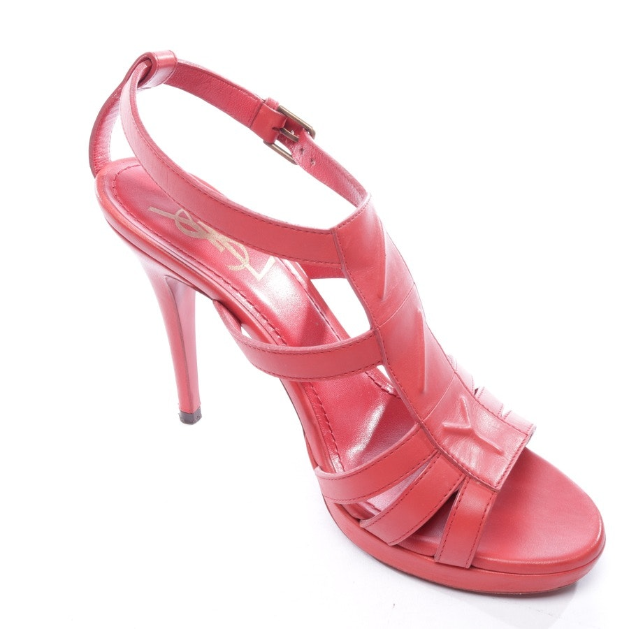 Sandaletten von Yves Saint Laurent in Rot Gr. D 37