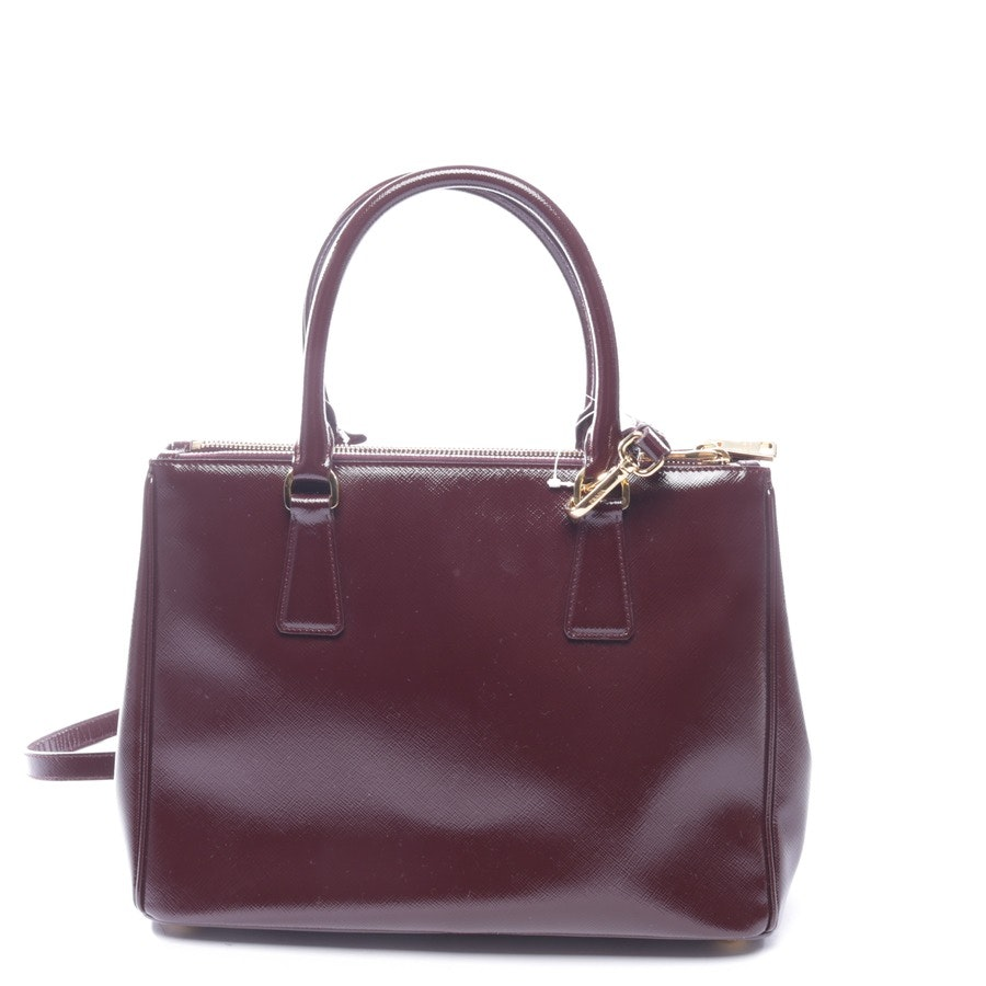 shoulder bag from Prada in bordeaux