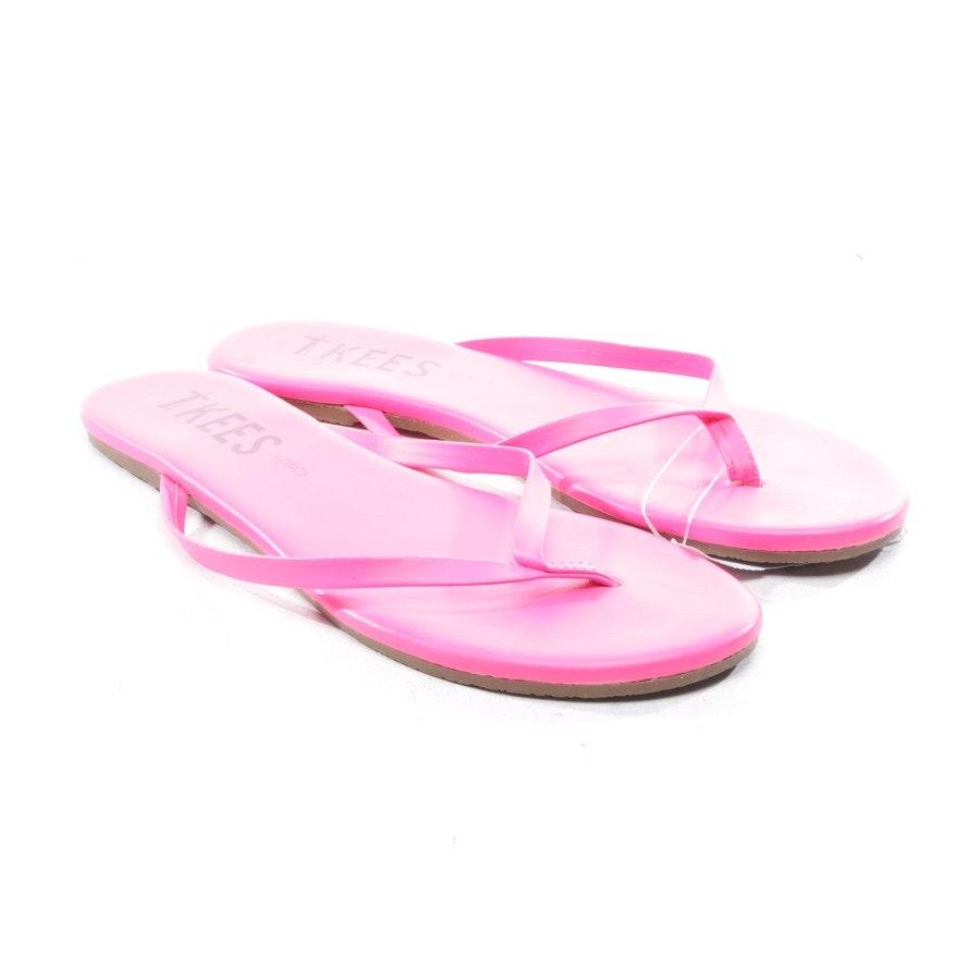 Zehentrenner von TKEES in Neon Pink Gr. D 37