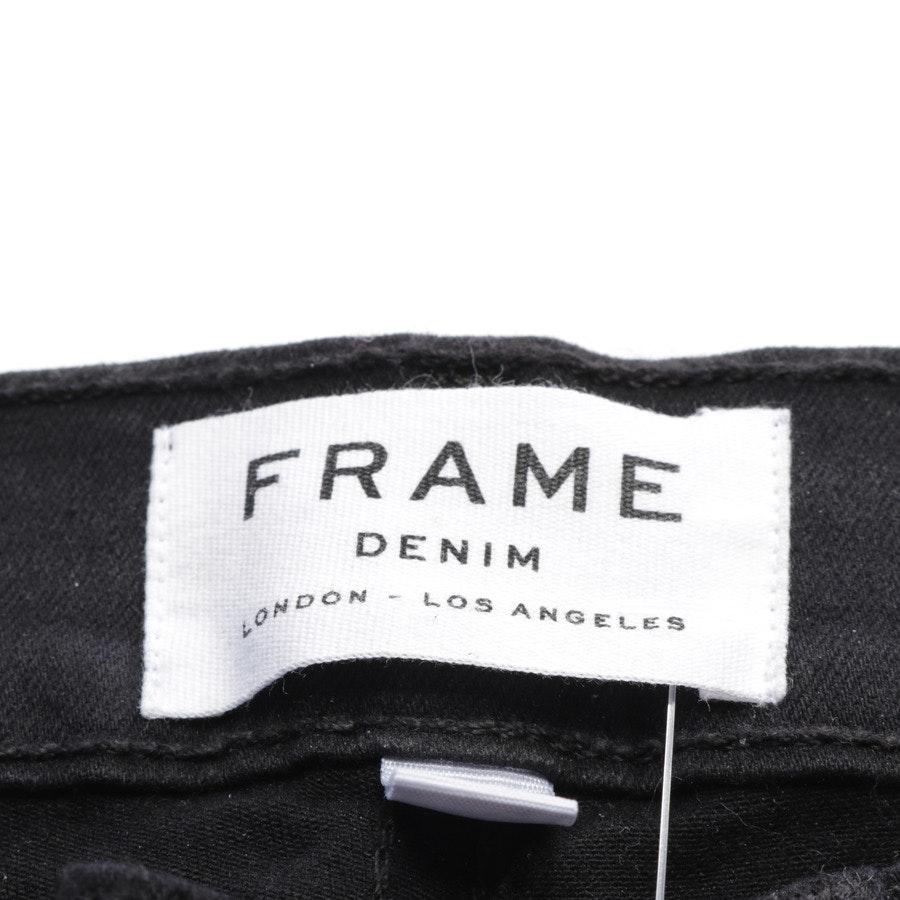 Jeans von Frame in Schwarz Gr. W24 - Le Skinny de Jeanne