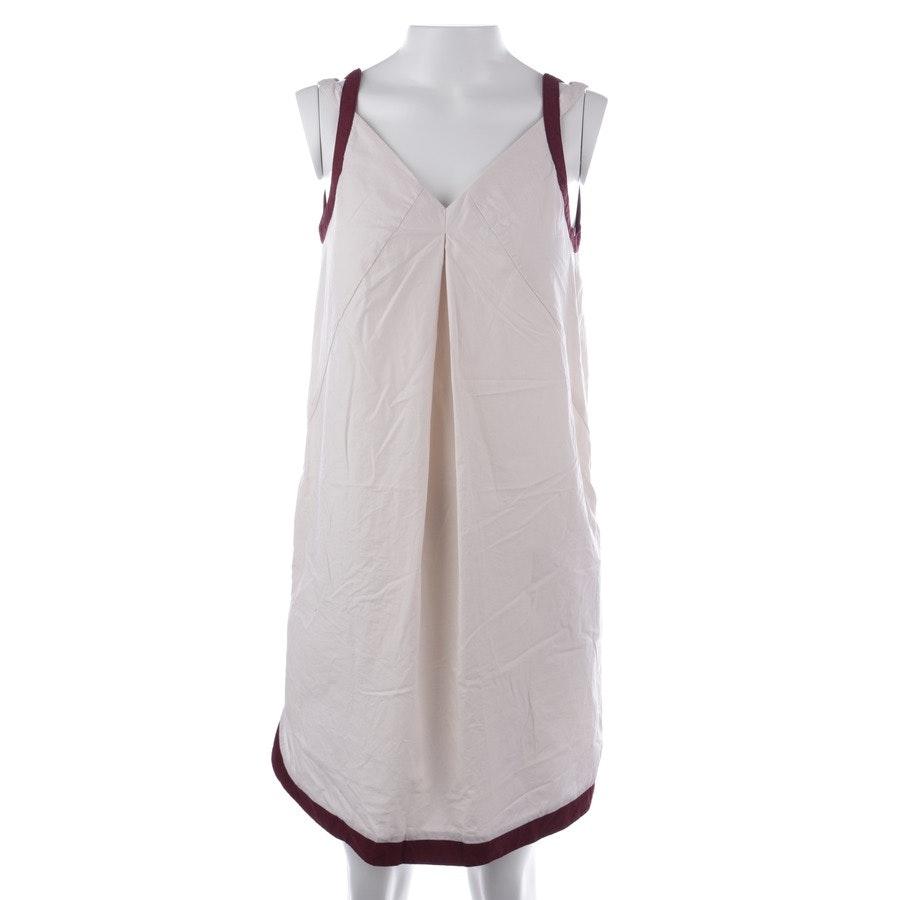 Kleid von Stefanel in Creme und Rot Gr. 32 IT 38