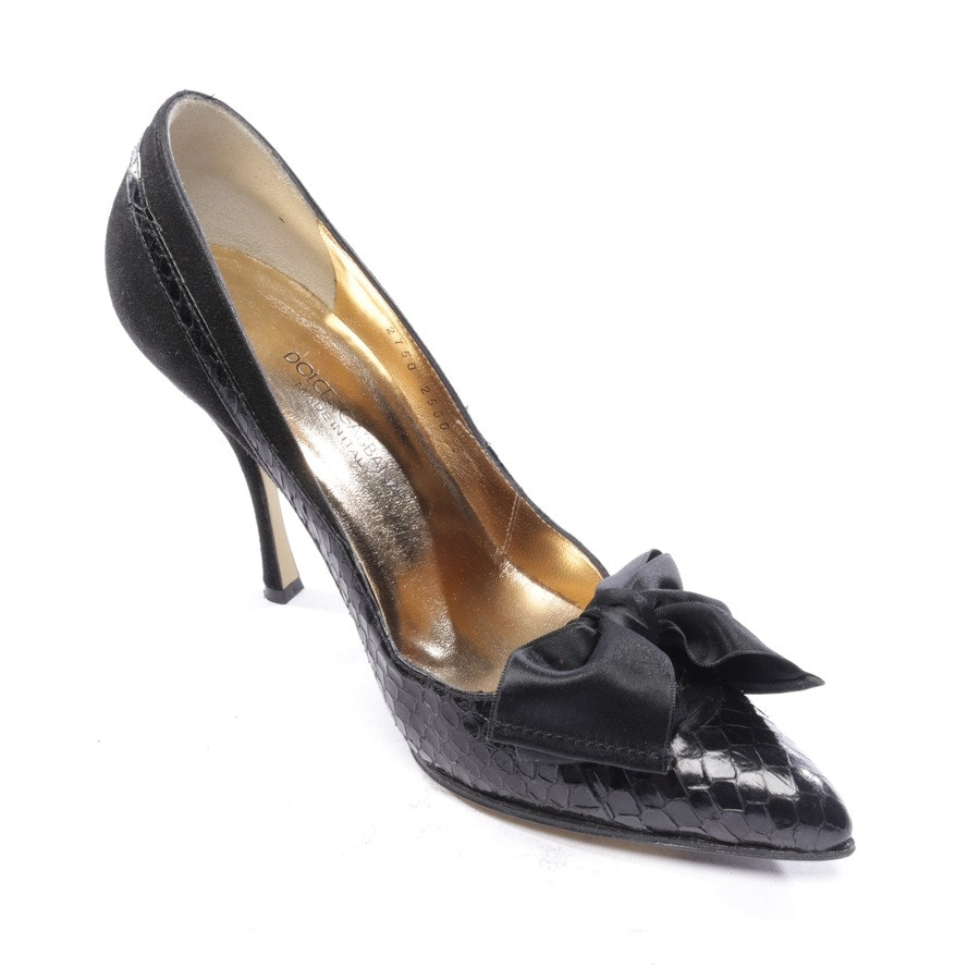 pumps from Dolce & Gabbana in black size D 36