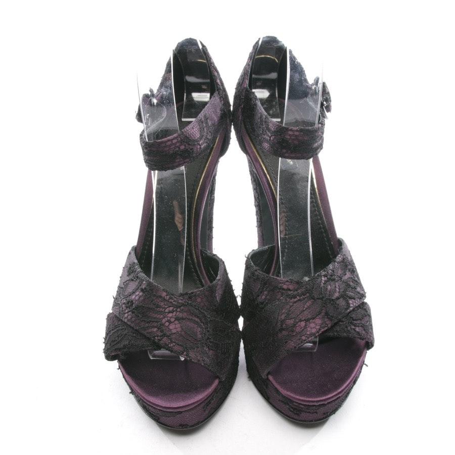 Riemchen-Pumps von Dolce & Gabbana in Lila Gr. D 39,5 - Neu