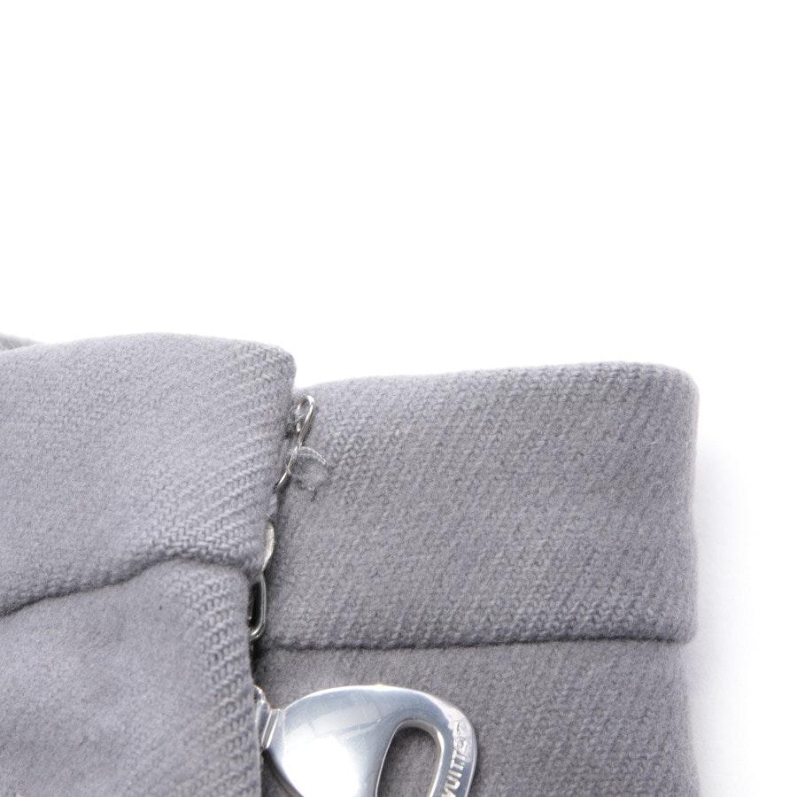 Wollrock von Louis Vuitton in Grau Gr. 38 FR 40