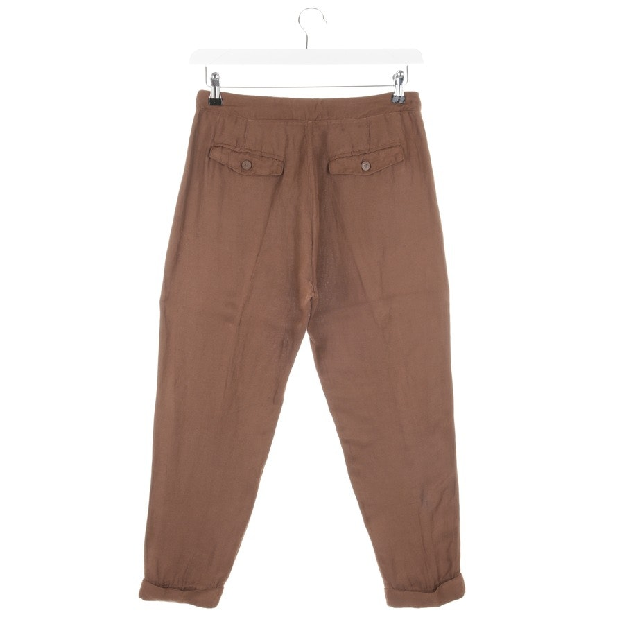 trousers from Twin Set in brown size S