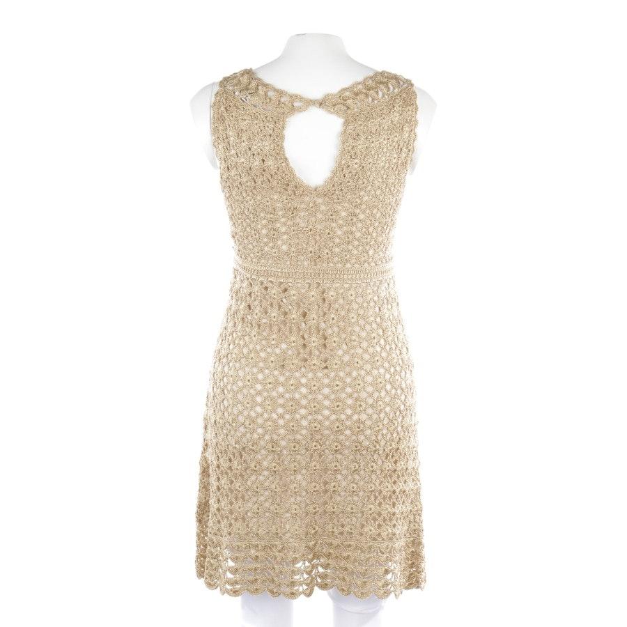 dress from Diane von Furstenberg in gold size M