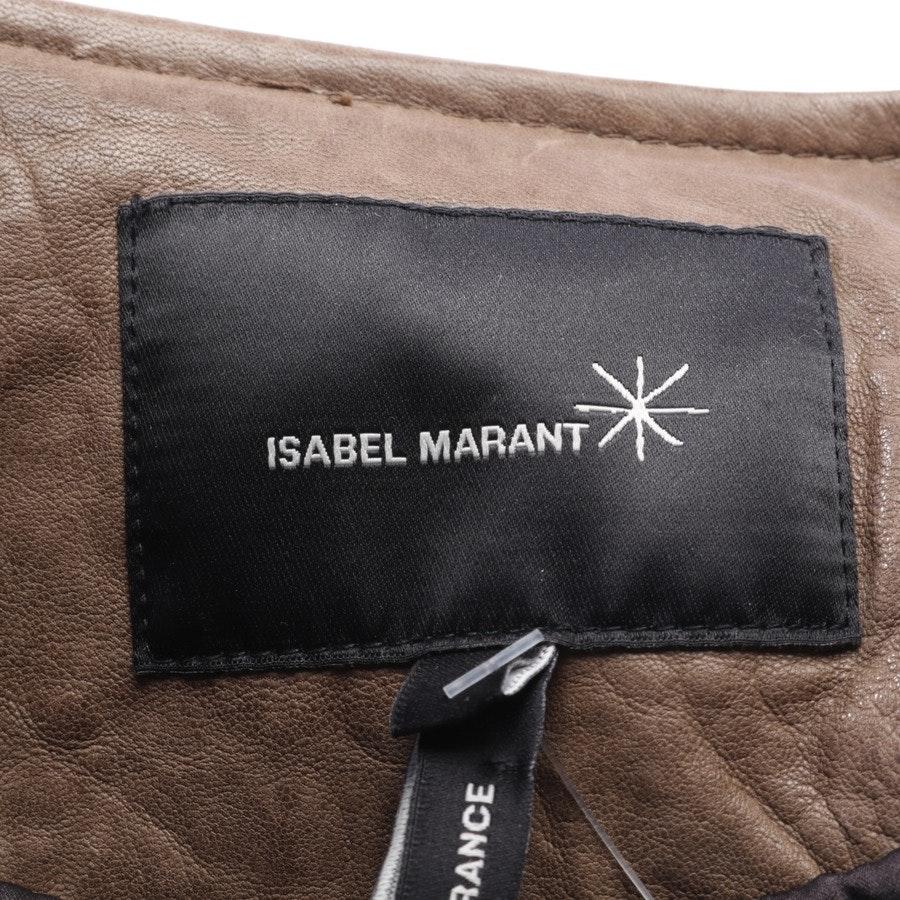 Lederjacke von Isabel Marant in Cognac Gr. 34 / 1