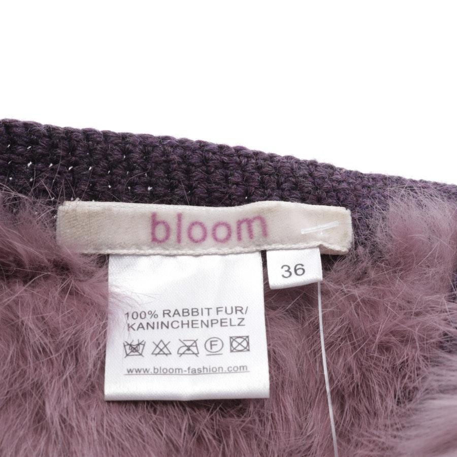 Fellweste von Bloom in Lila Gr. 36