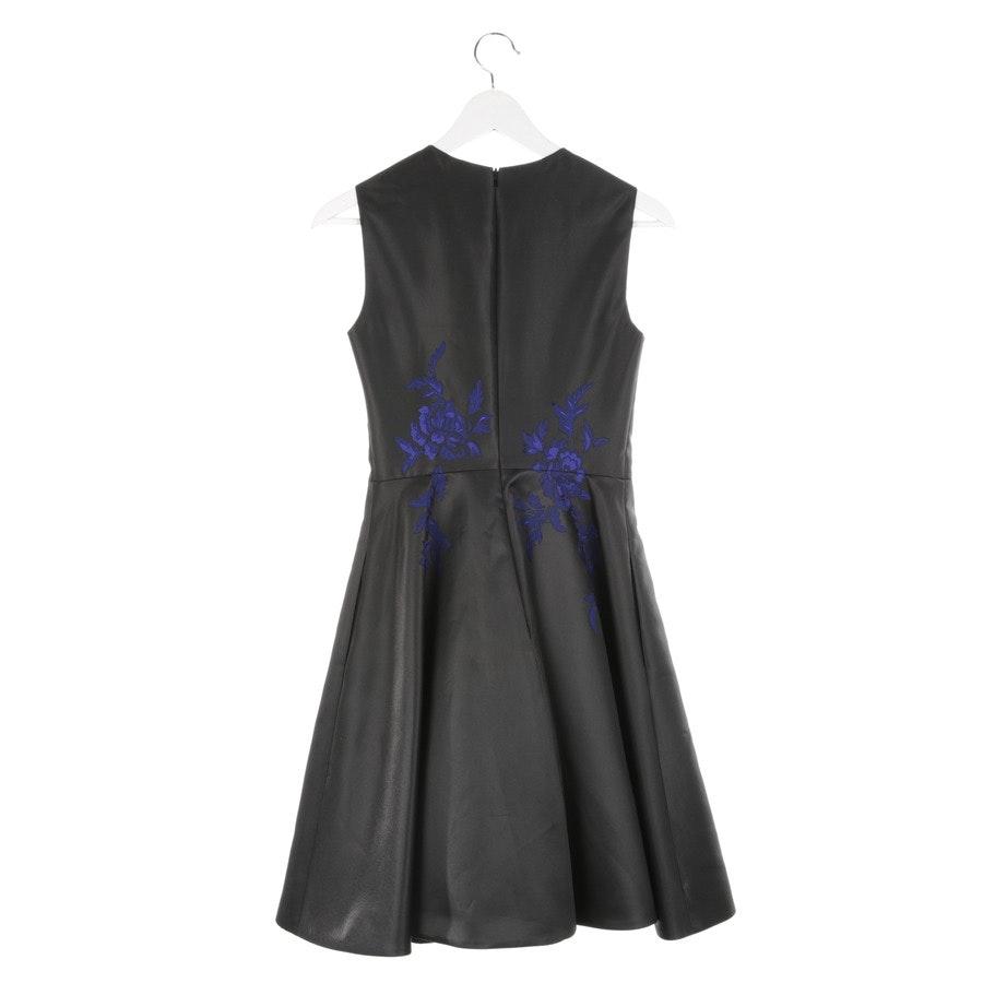 Kleid von Karen Millen in Schwarz und Blau Gr. 34