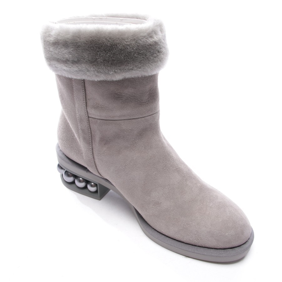 ankle boots from Nicholas Kirkwood in green size EUR 38,5 - new
