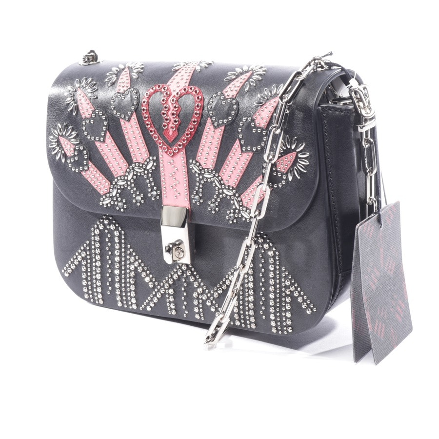 evening bags from Valentino in black and pink - new