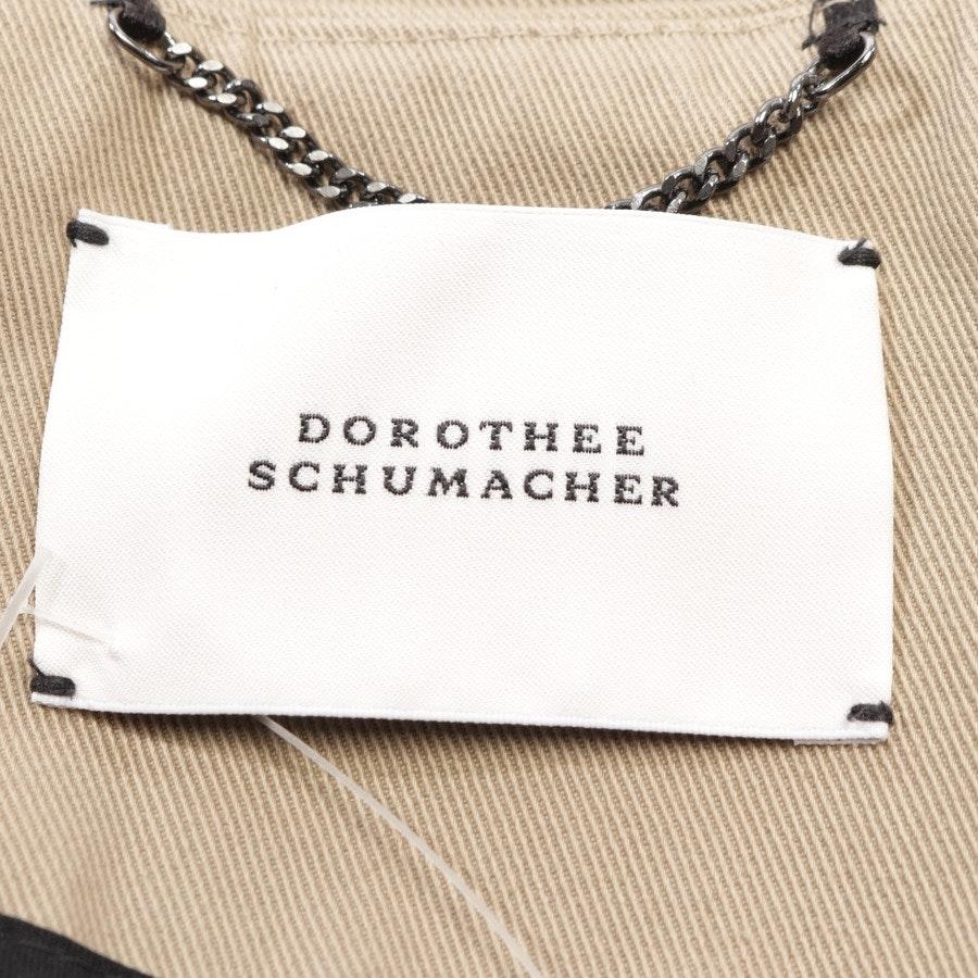 Sommerjacke von Dorothee Schumacher in Camel Gr. 36 // 2