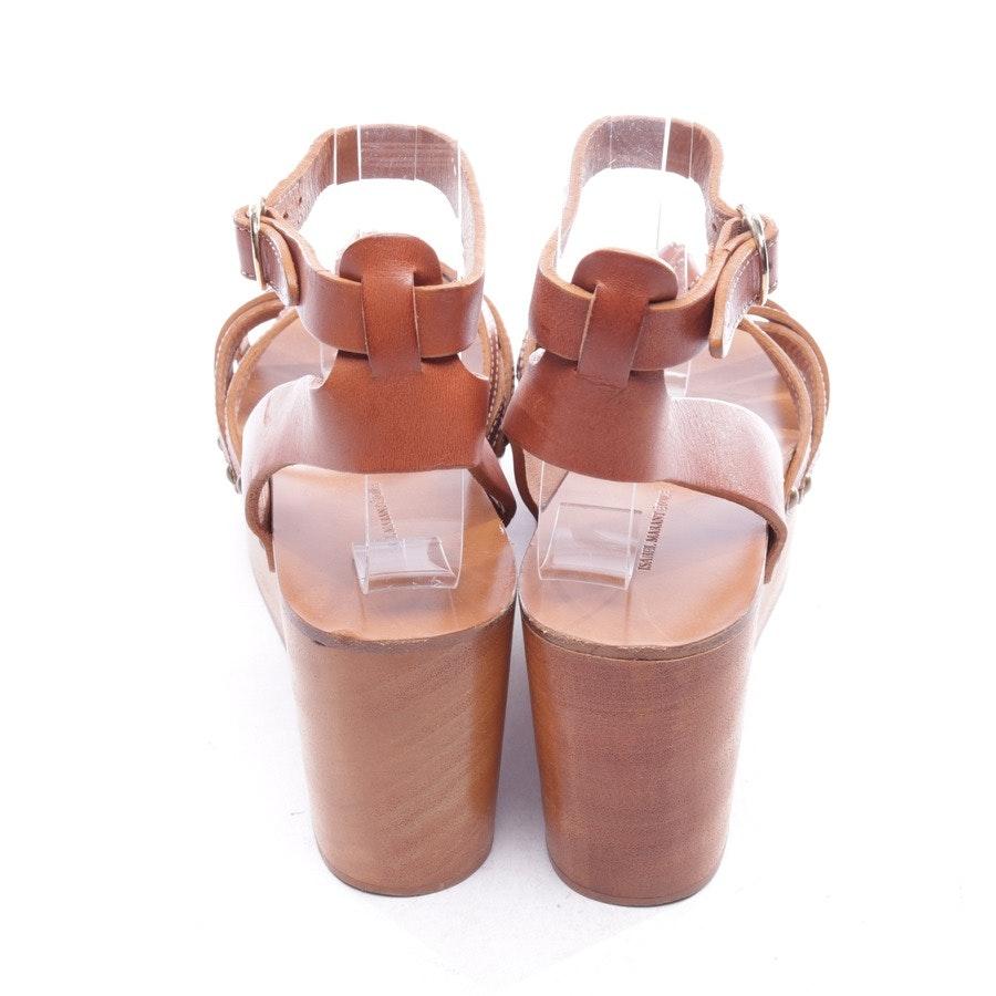Sandaletten von Isabel Marant Étoile in Braun Gr. D 38