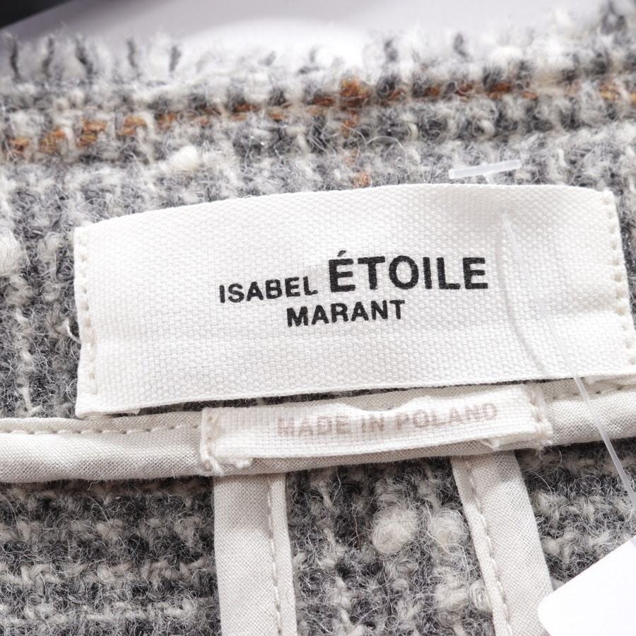 blazer from Isabel Marant Étoile in grey and white size 36
