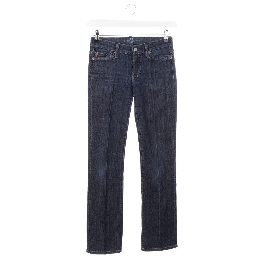 Jeans von 7 for all mankind in Mittelblau Gr. W25