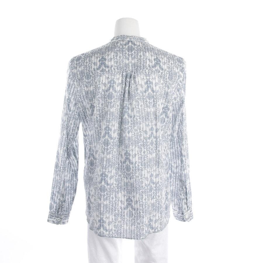 Bluse von Marc O'Polo Denim in Weiß und Blau Gr. M