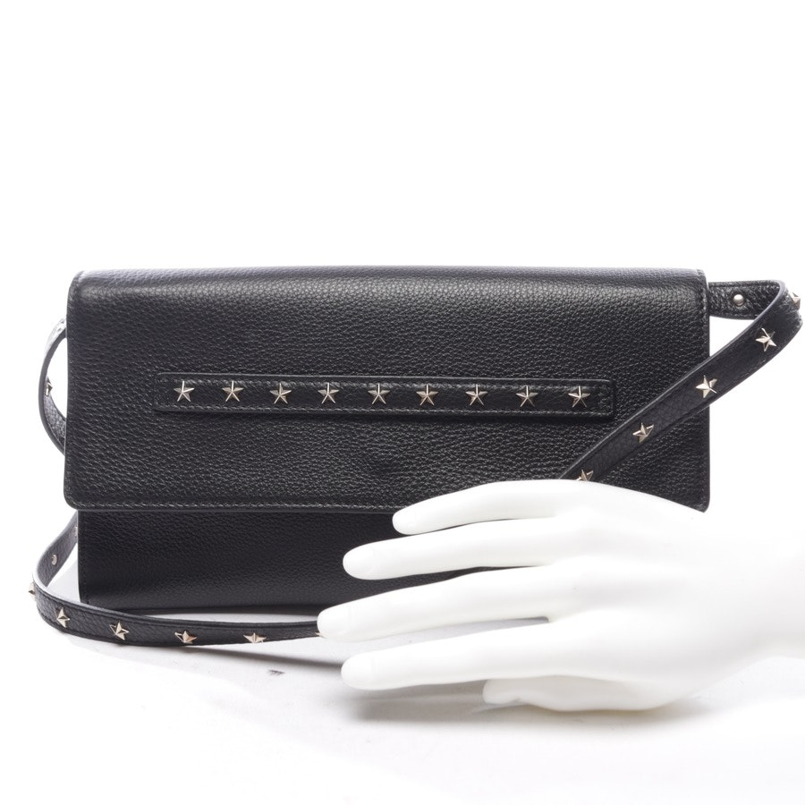 evening bags from Red Valentino in black