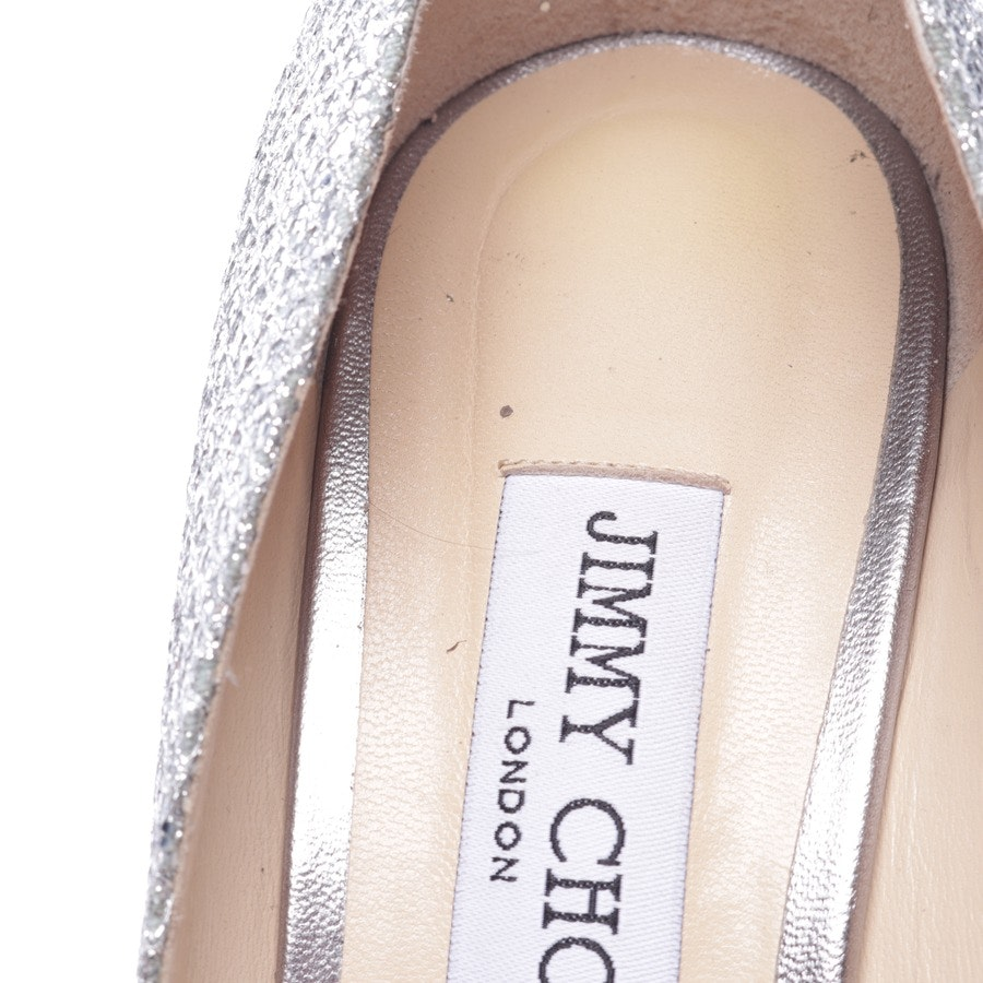 pumps from Jimmy Choo in silver size D 40,5 - new