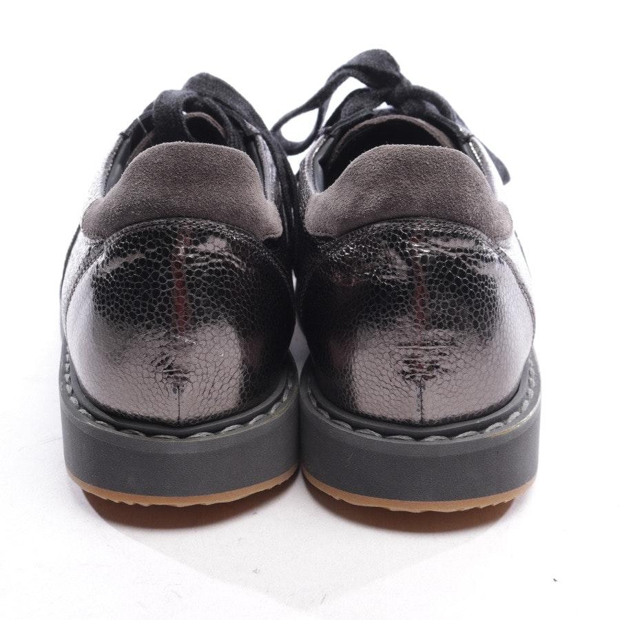 Sneaker von Brunello Cucinelli in Dunkelgrau Gr. D 40 - Neu