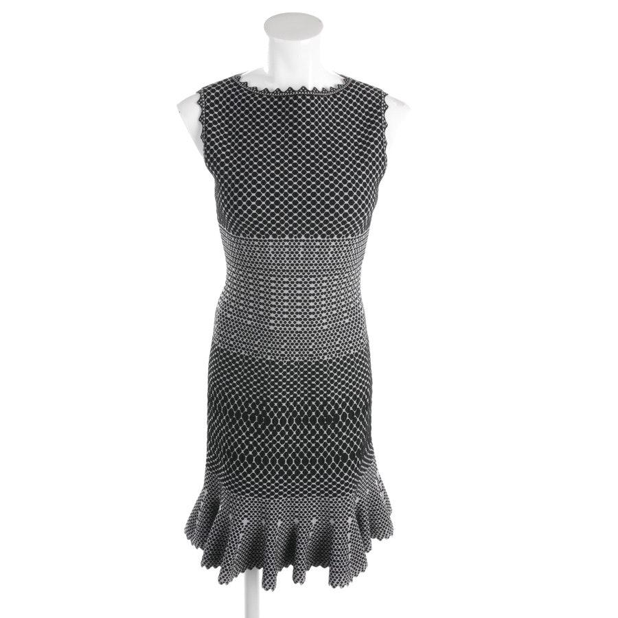 Kleid von Alaia in Hellgrau und Schwarz Gr. 38 FR 40