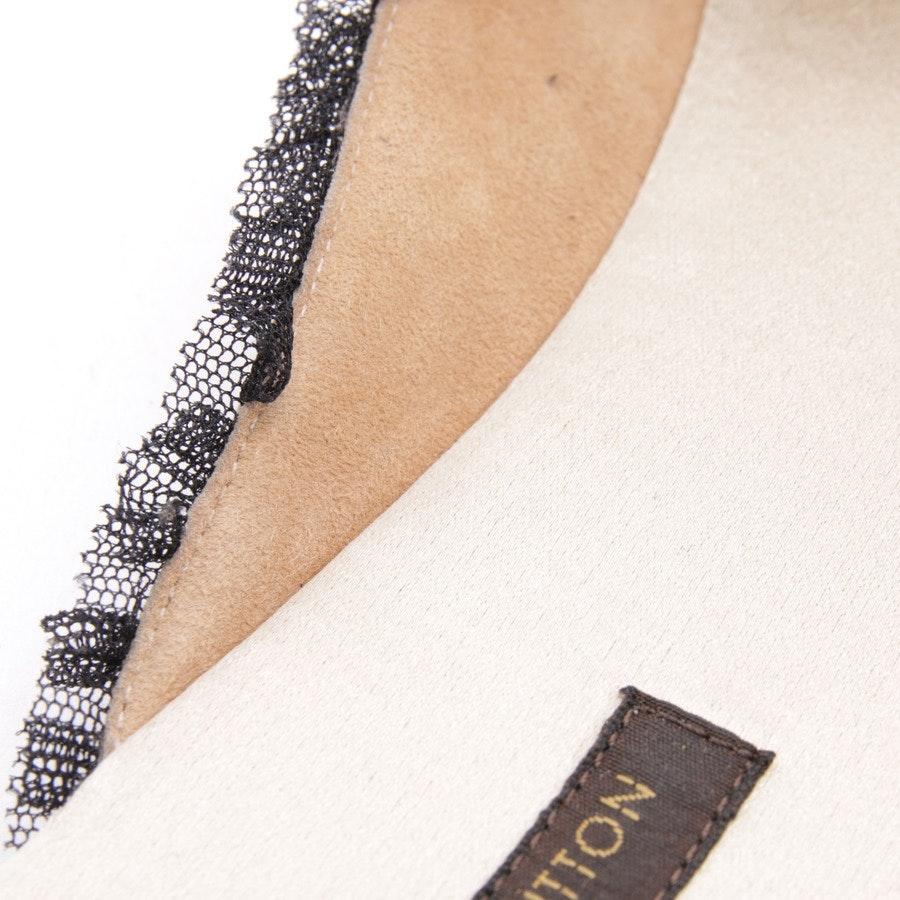 Pantoletten von Louis Vuitton in Beige und Schwarz Gr. EUR 37,5