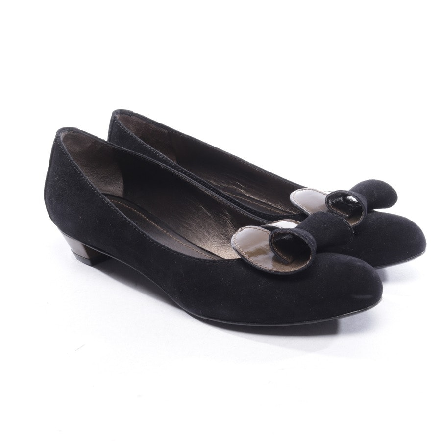 pumps from Etro in black and brown size D 38