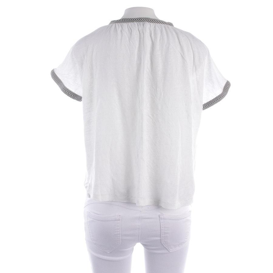 Shirt von Closed in Ecru und Blau Gr. 2XS