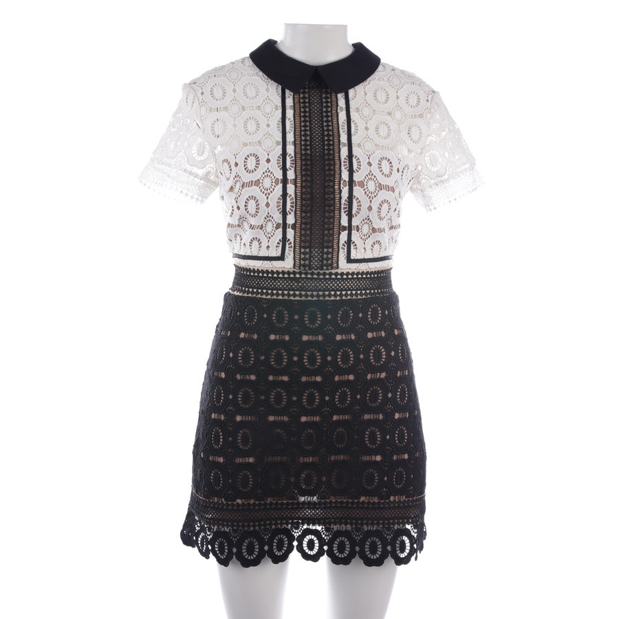 dress from self-portrait in black and white size 36 UK 10