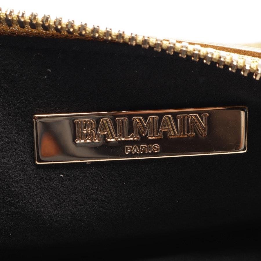 Clutch von Balmain in Gold