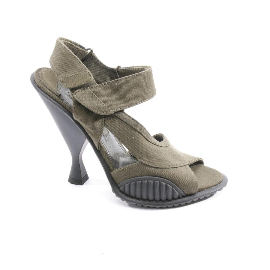 Sandaletten von Prada in Khaki Gr. D 37 - Neu