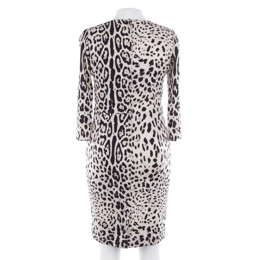Kleid von Dolce & Gabbana in Beige und Schwarz Gr. 38 IT 44