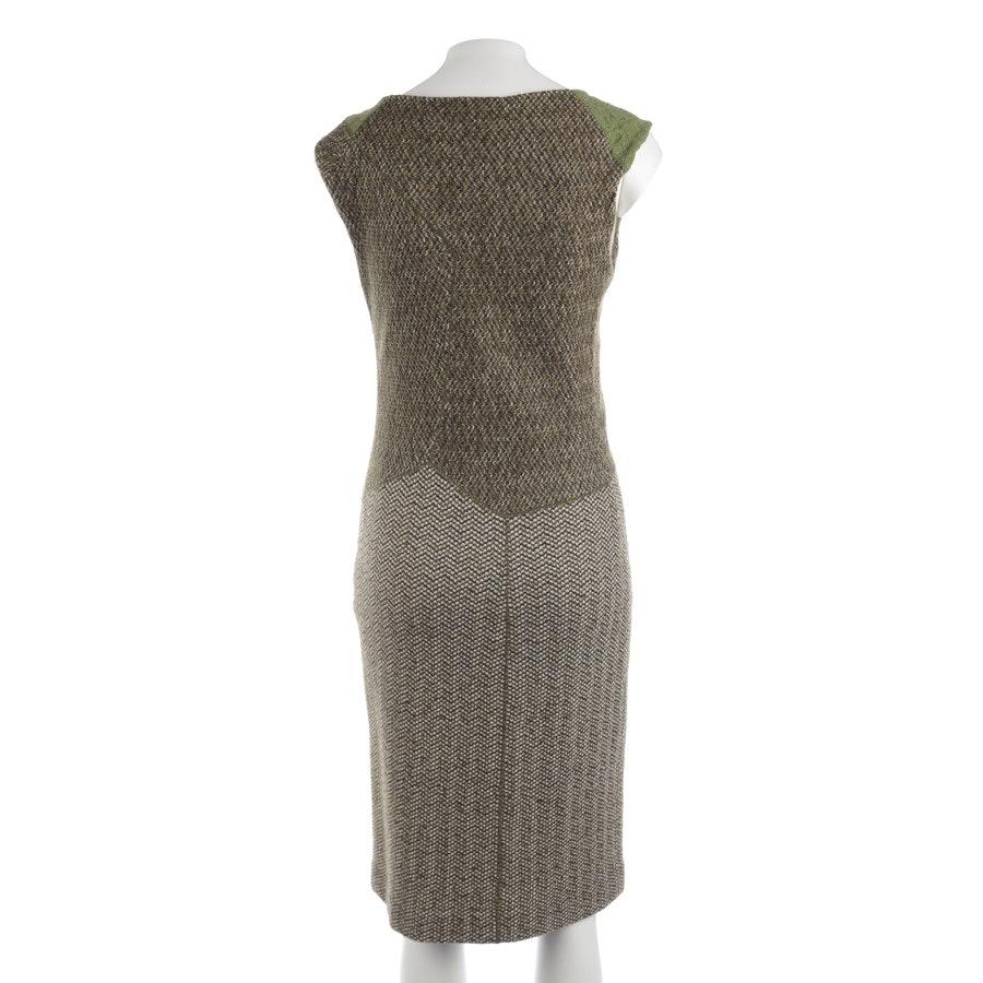 Kleid von Missoni in Apfelgrün und Beige Gr. 36 IT 42