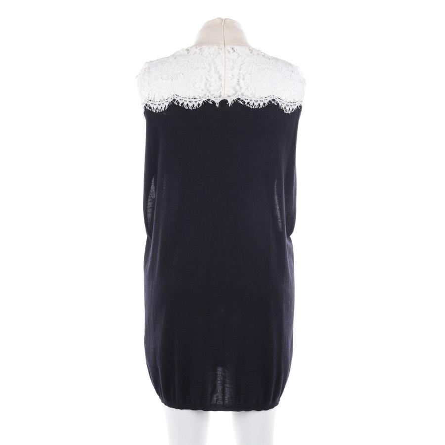 Cocktailkleid von Valentino in Schwarz und Weiß Gr. M