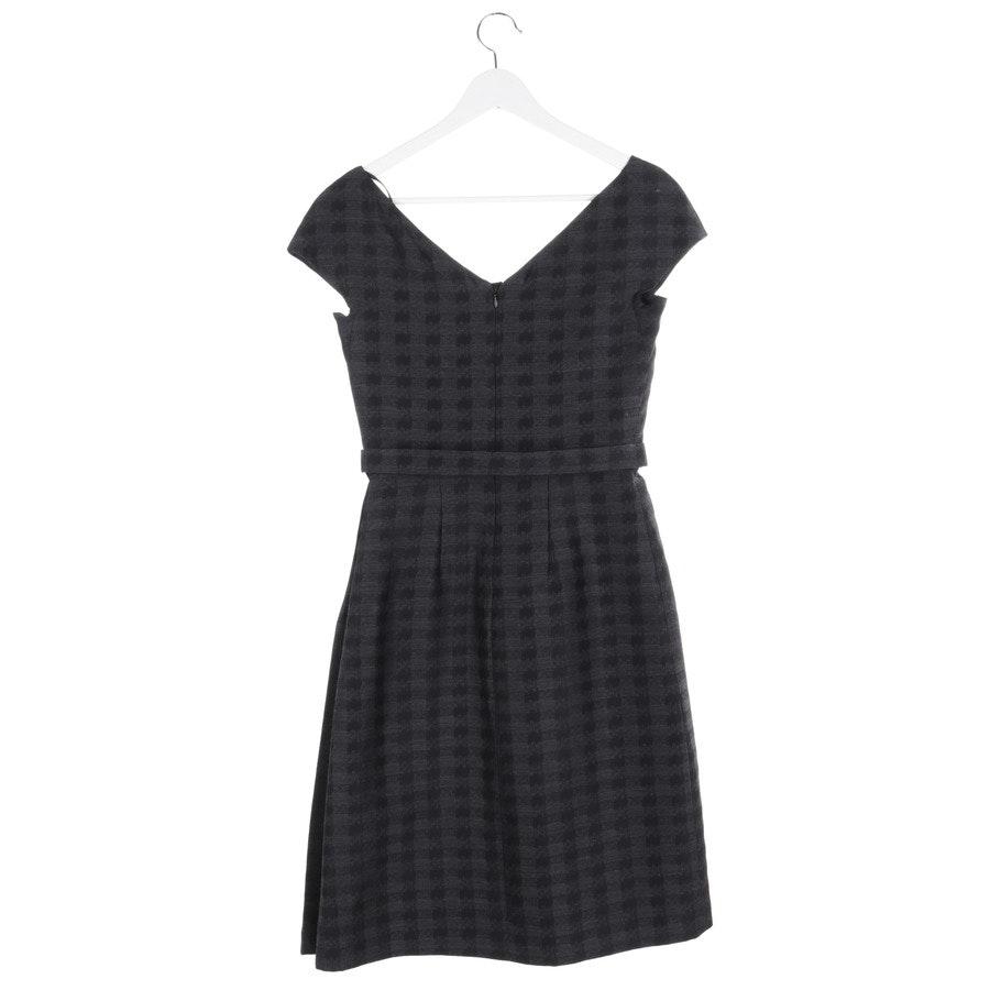Kleid von Prada in Schwarz und Grau Gr. 32 IT 38