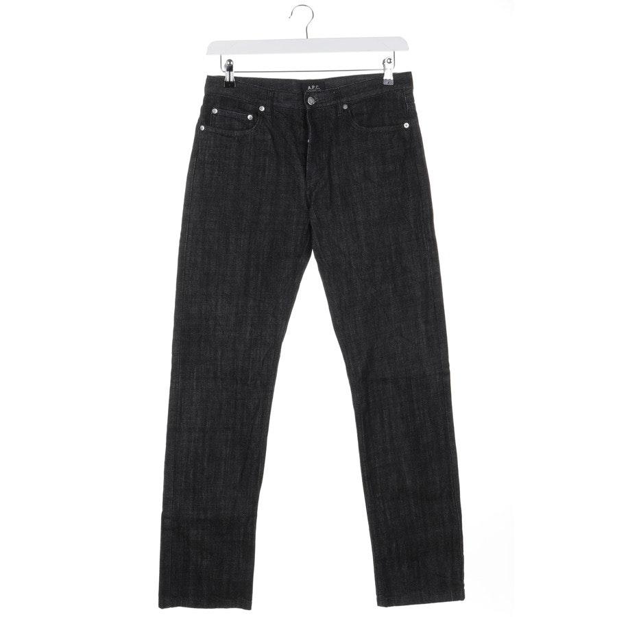 Jeans von A.P.C in Schwarz Gr. W31