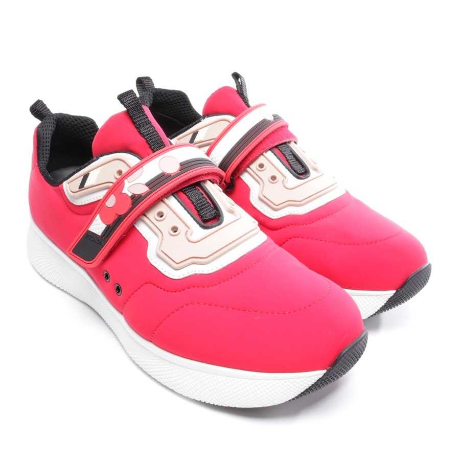 trainers from Prada Linea Rossa in red and multicolor size D 41 - new