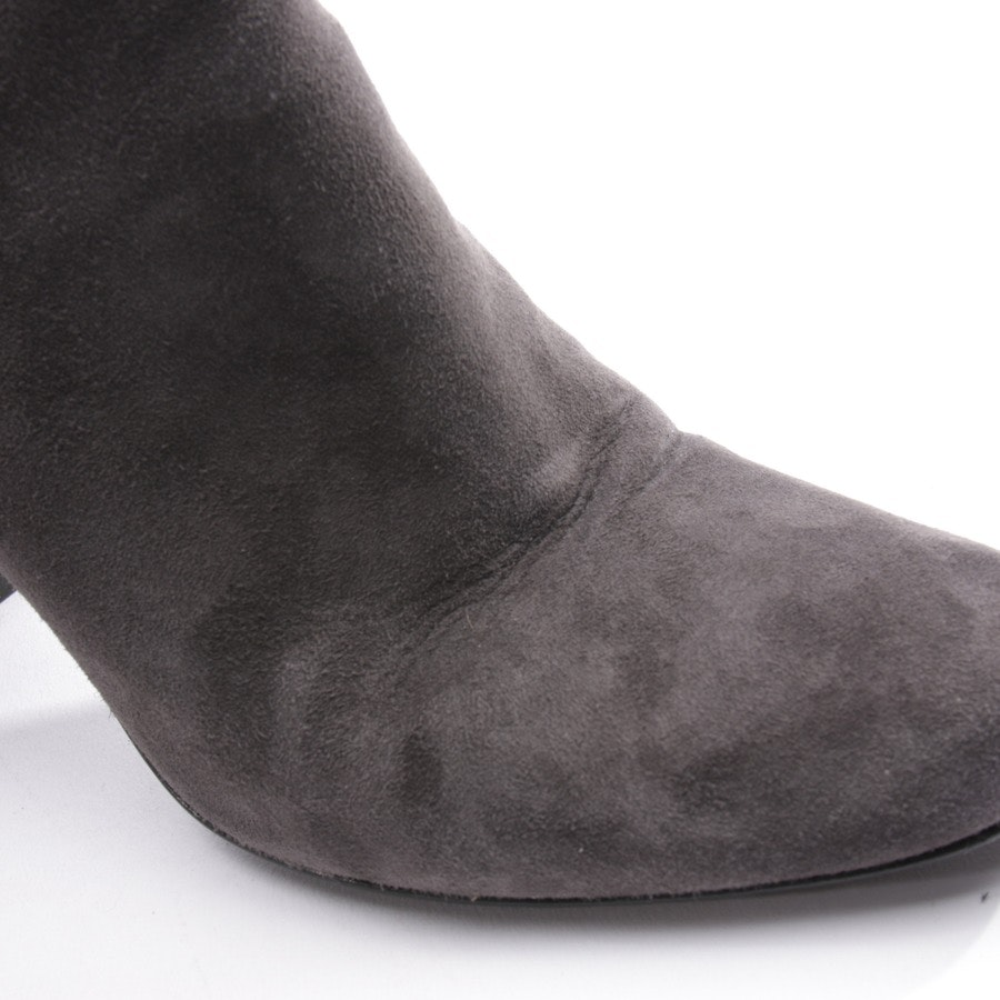 Stiefeletten von Saint Laurent in Grau und Schwarz Gr. EUR 39
