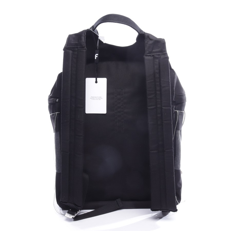 backpack from Rick Owens in black and blue - new