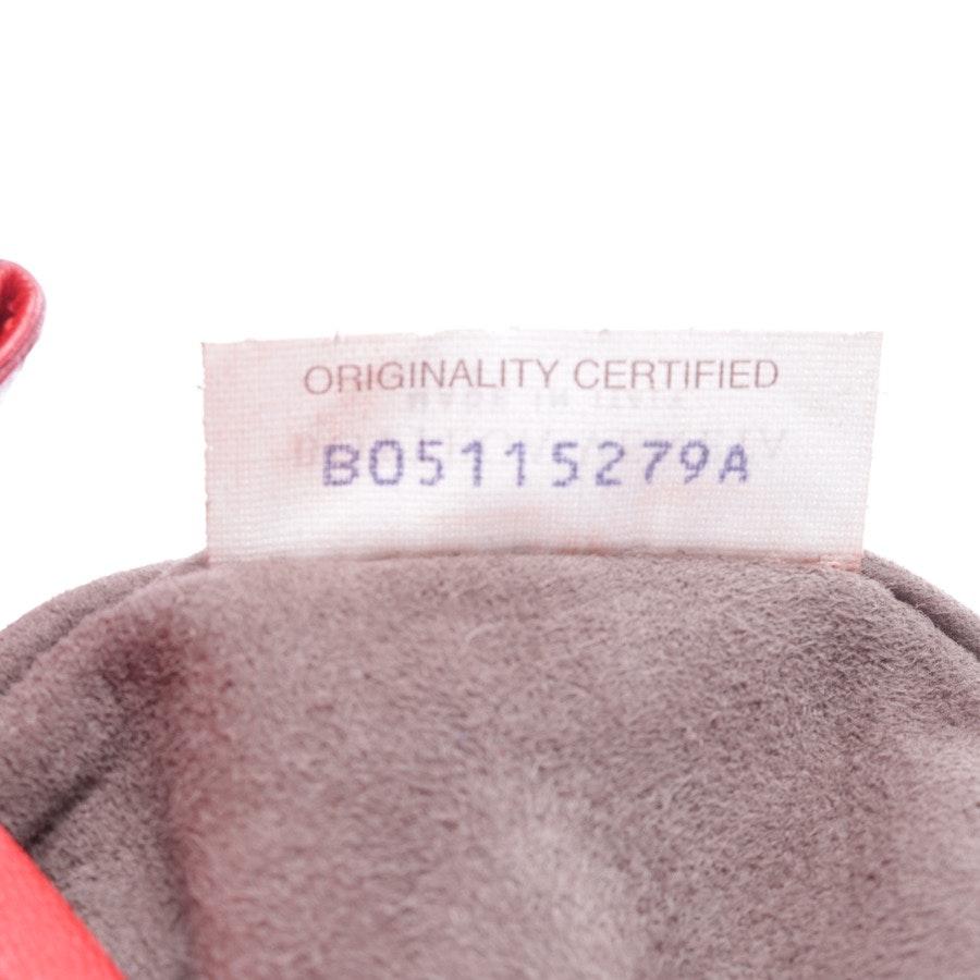 shoulder bag from Bottega Veneta in red and black