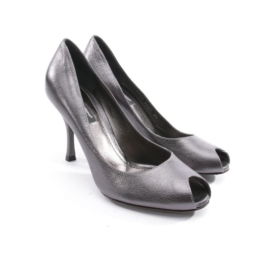 pumps from Dolce & Gabbana in grey size D 36