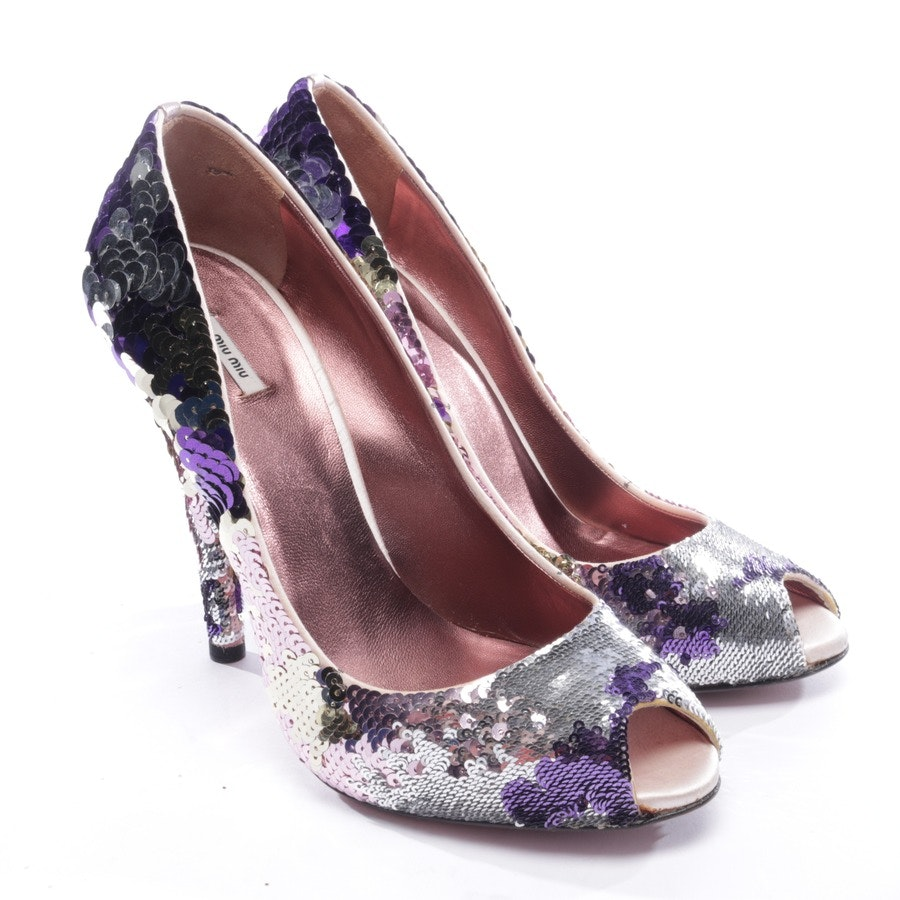 heeled sandals from Miu Miu in multicolor size D 39,5