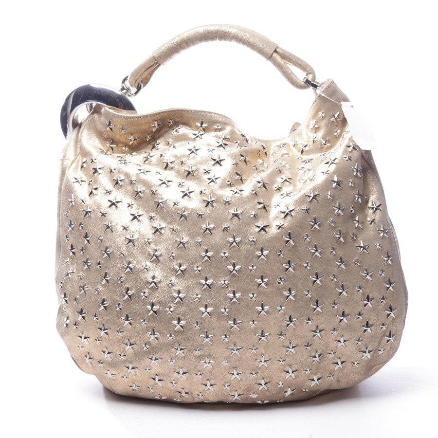 shoulder bag from Jimmy Choo in gold - solar