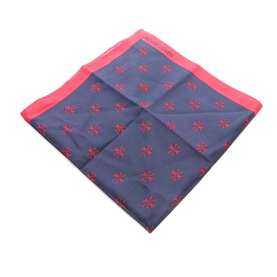cloth from Jacob Cohen in dark blue and red