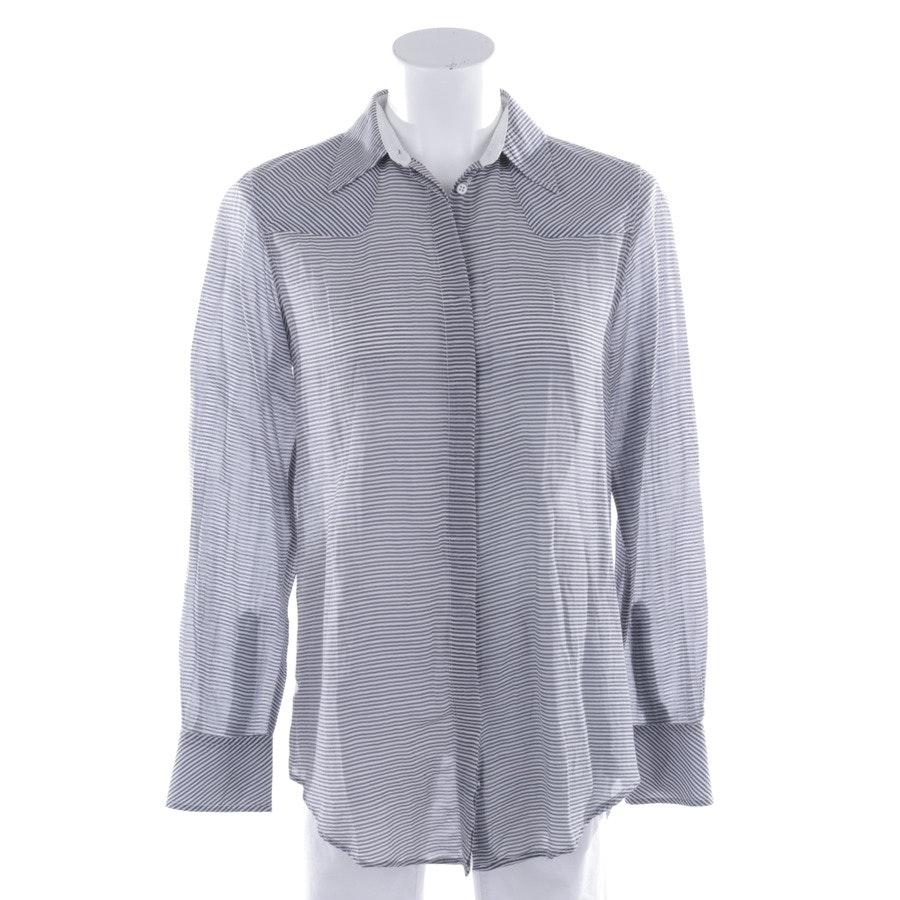 Bluse von Rag & Bone in Weiß und Grau Gr. XS