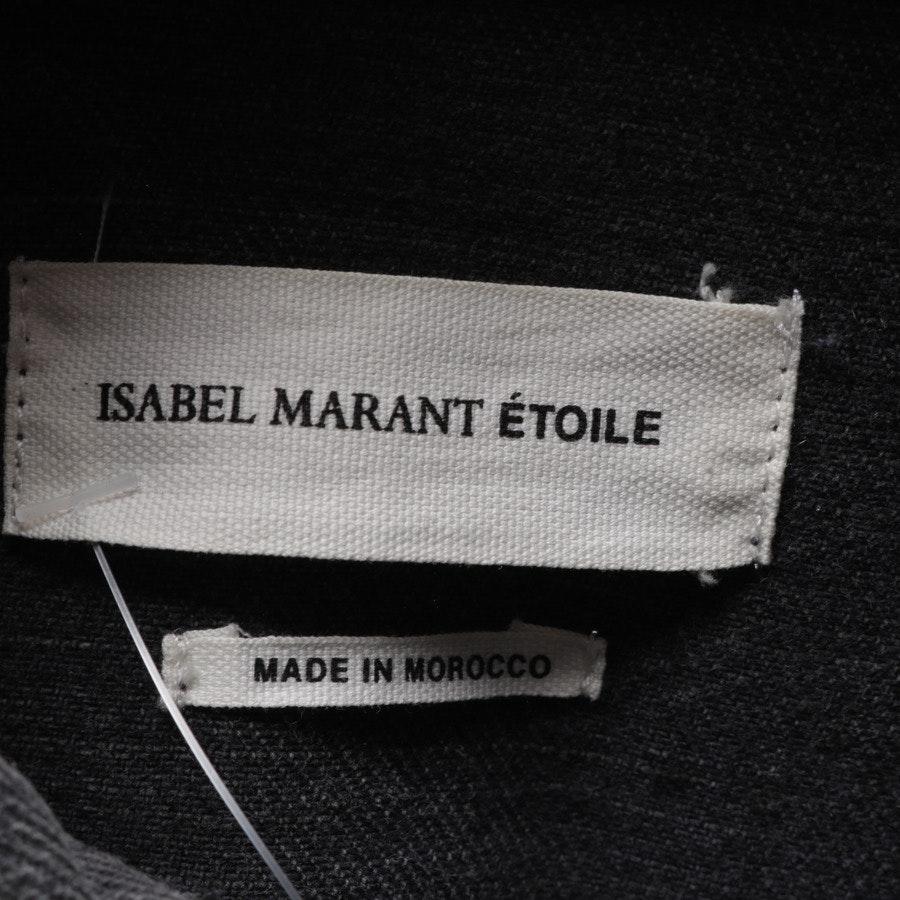 Jeansjacke von Isabel Marant Étoile in Dunkelgrau und Mehrfarbig Gr. 34 FR 36
