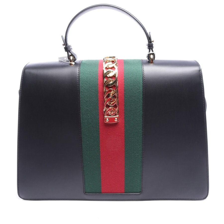 handbag from Gucci in black and multi-coloured - sylvie - new